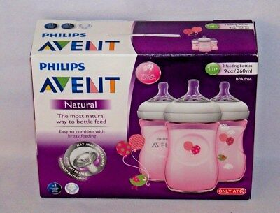 Philips Avent Natural 3 Pack 9 Oz Bottles Target Exclusive