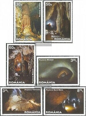 Romania 6493-6498 (complete.issue.) unmounted mint / never hinged 2011 Caves