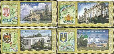 Romania 6469-6472 (complete.issue.) unmounted mint / never hinged 2010 Donauanra
