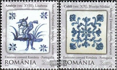 Romania 6449A-6450A (complete.issue.) unmounted mint / never hinged 2010 diploma
