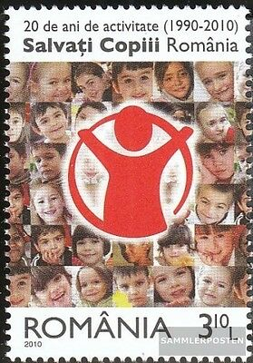 Romania 6444 (complete.issue.) unmounted mint / never hinged 2010 Kinderschutzve