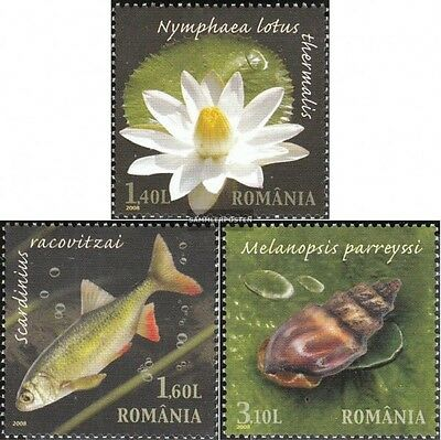 Romania 6334-6336 (complete.issue.) unmounted mint / never hinged 2008 Reserve