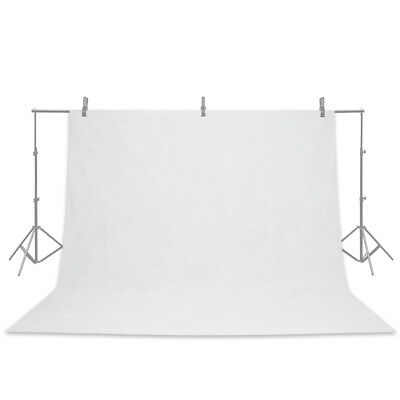 6.8 x 5.2ft Economy Chromakey Backdrop Photography Studio Background White