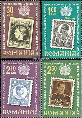 Romania 6067-6070 (complete.issue.) unmounted mint / never hinged 2006 Dynasty H
