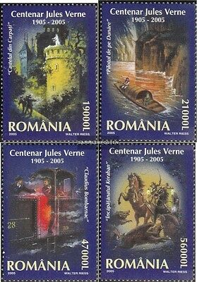 Romania 5919-5922 (complete.issue.) unmounted mint / never hinged 2005 Jules Ver