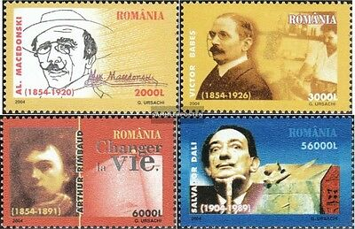 Romania 5844-5847 (complete.issue.) unmounted mint / never hinged 2004 Anniversa
