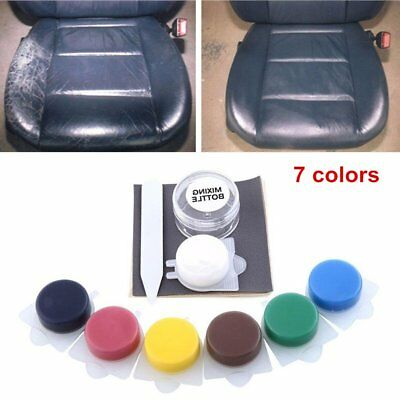 0.136 kg Auto Car Seat Sofa Crack Rip No Heat Liquid Leather Vinyl Repair Kit DU