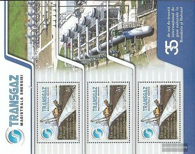 Romania Block453 (complete.issue.) unmounted mint / never hinged 2009 Erdgaspipl