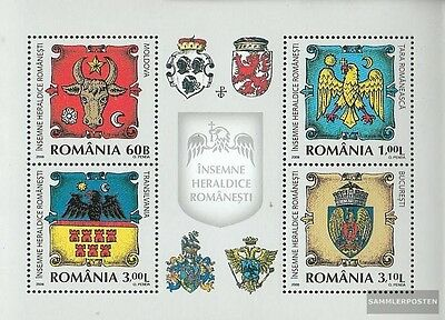 Romania Block437 (complete.issue.) unmounted mint / never hinged 2008 Crest