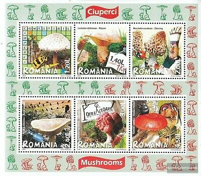 Romania Block417 (complete.issue.) unmounted mint / never hinged 2008 Mushrooms