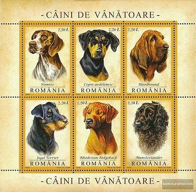 Romania Block361 (complete.issue.) unmounted mint / never hinged 2005 Hounds