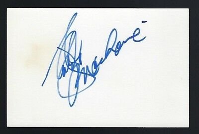 Red Buttons Actor Comedian 1976 Shirley Maclaine Autographed Signed Index Card Autographs-original