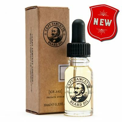 Captain Fawcett - 10ml Beard Oil Private Stock Travel Sized