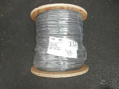 BELDEN ? 7206 2c TYPE CM 16 STR 18 AWG COMMUNICATIONS CABLE 1000FT ROLL