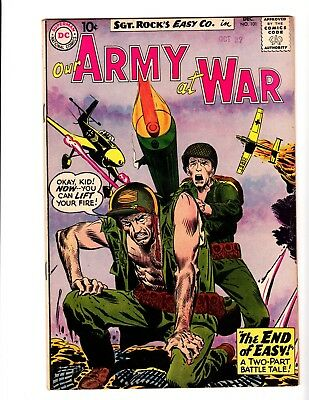 OUR ARMY AT WAR #101 VF+ (1960) (1st. appearance Buster)