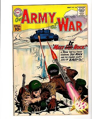 Our Army At War #106 Fine- (1961)
