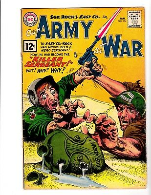Our Army At War #114 Gd/vg (1961)