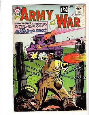 Our Army At War #123 Fine (1962)