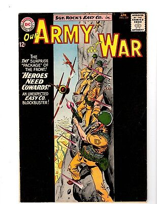 Our Army At War #129 Vg+ (1963)