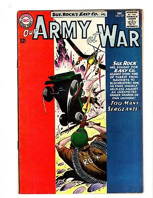 Our Army At War #137 Fine (1963)