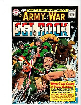 Our Army At War #160 Vf/nm (1965)
