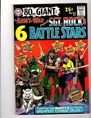 OUR ARMY AT WAR #164 NM- (80 Page Giant) (1966)