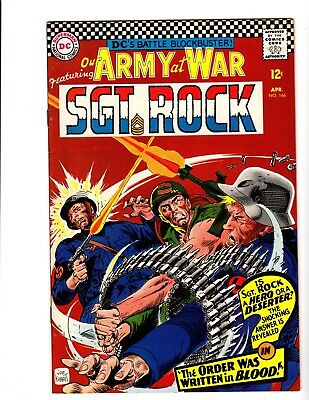 Our Army At War #166 Vf/nm (1966)