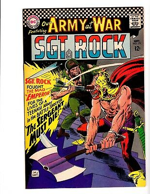 OUR ARMY AT WAR #171 NM- (1966) (1st. Mad Emperor)