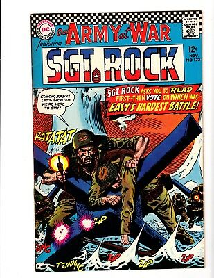 Our Army At War #173 Nm- (1966)