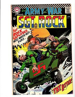 Our Army At War #175 Vf+ (1967)
