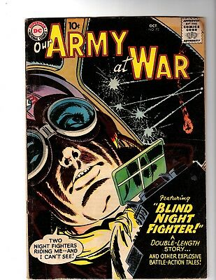 Our Army At War #75 Vg (1958)