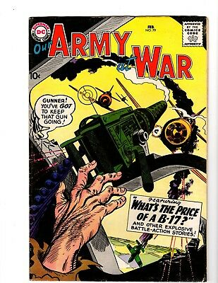 Our Army At War #79 Fine+ (1959)