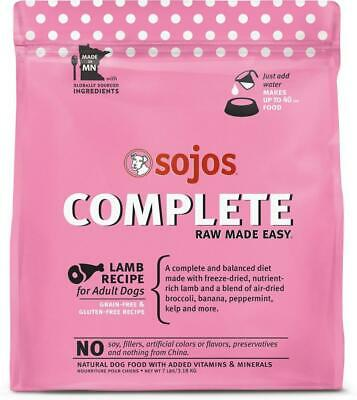 Sojos Lamb Complete Freeze Dried Raw Dog Food