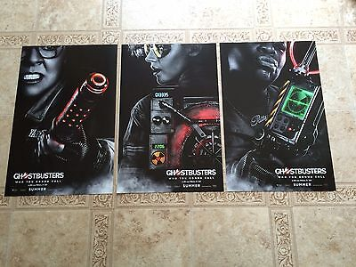2016 GHOSTBUSTERS Movie Poster Lot of 3 Different 11x17 NEW Melissa McCarthy