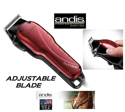 Andis Tackmate Adjustable Blade High Speed EQUINE CLIPPER SET*QUIET*HORSE,DOG