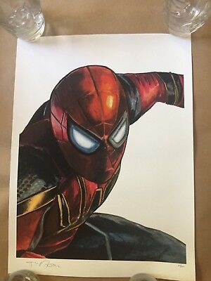 SHINY OBJECT prints by artist Tim Doyle Spider Man Made Up Names Giclee S /N B