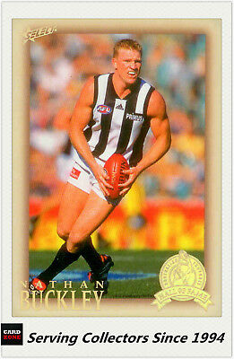 2012 Select AFL Eternity Hall Of Fame S4 Card HOF213 Nathan Buckley(Collingwood)