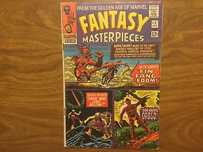 Marvel 1966 Fantasy Masterpieces 2 Reprinted From Timely Comics Kirby Ditko Heck
