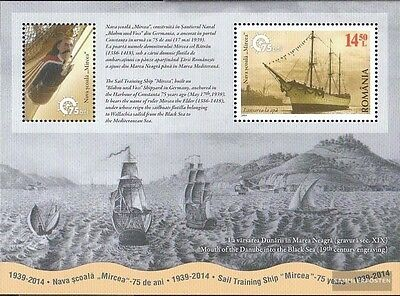 Romania Block589 (complete.issue.) unmounted mint / never hinged 2014 Segelschul