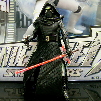 "STAR WARS the black series KYLO REN the Force Awakens epVII 3.75"" TBS Walmart"