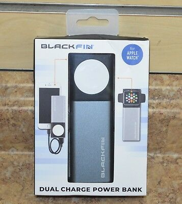 Blackfin Dual Charge Power Bank (for Apple Watch Series 1 2 3) New Sealed