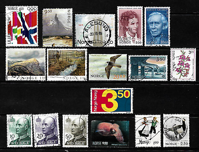 Norway ... A splendid stamp collection ...  009685