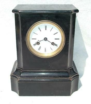 Antique Raingo Freres Wooden Cased Chiming Mantle Clock From Estate Clearance