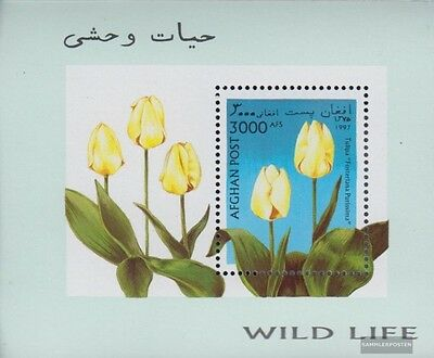Afghanistan block93 (complete.issue.) unmounted mint / never hinged 1997 Tulpenz