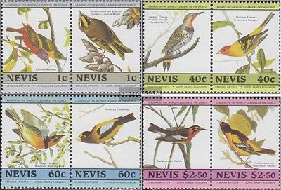 Nevis 268-275 Couples (complete.issue.) unmounted mint / never hinged 1985 John