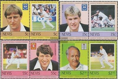 Nevis 220-227 Couples (complete.issue.) unmounted mint / never hinged 1984 Krick