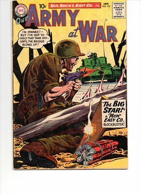 Our Army At War #102 Early Sgt. Rock January 1961
