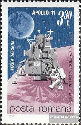 Romania 2781 (complete.issue.) unmounted mint / never hinged 1969 Moon Landing