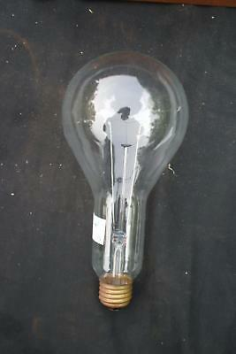 Early Clear Large Light Bulb  Vintage Antique