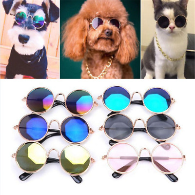 Cute Dog Cat Pet Glasses For Pet Little Dog Puppy Sunglasses Photos Props Fun